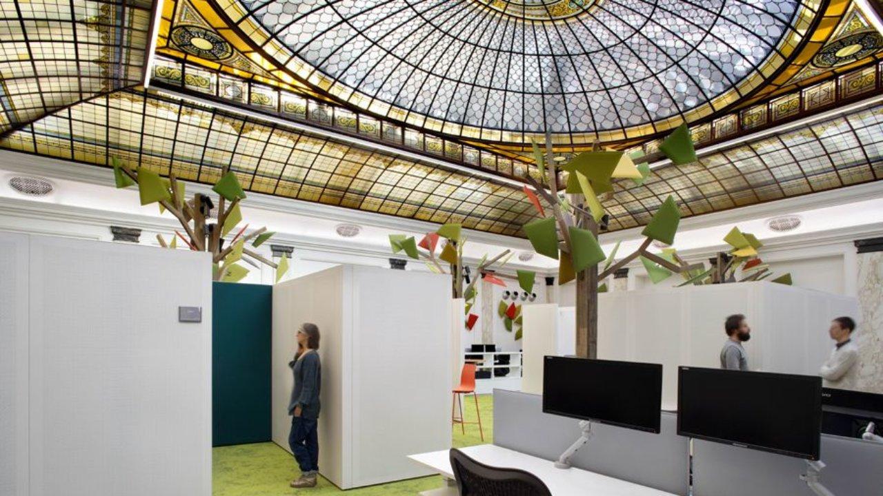 Il Bosco Entra In Ufficio Edison Un Progetto Di Human Centric Lighting Lumi
