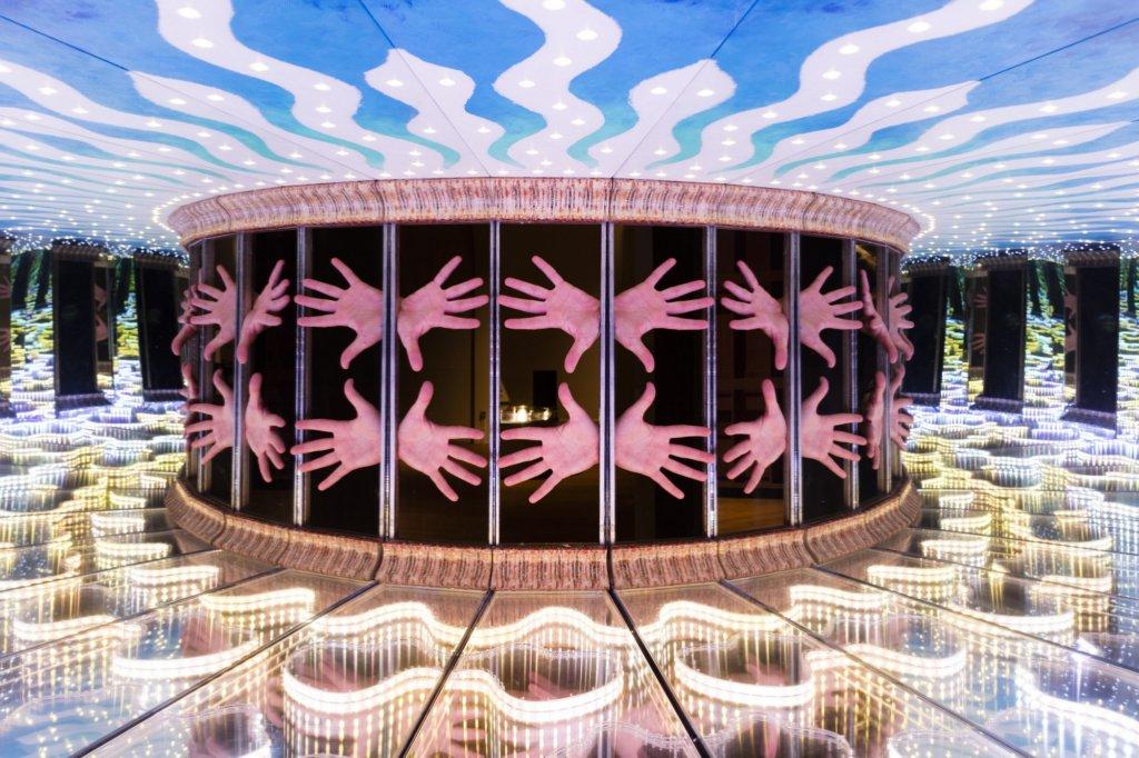 Una delle opere del museo Wonderlab in UK