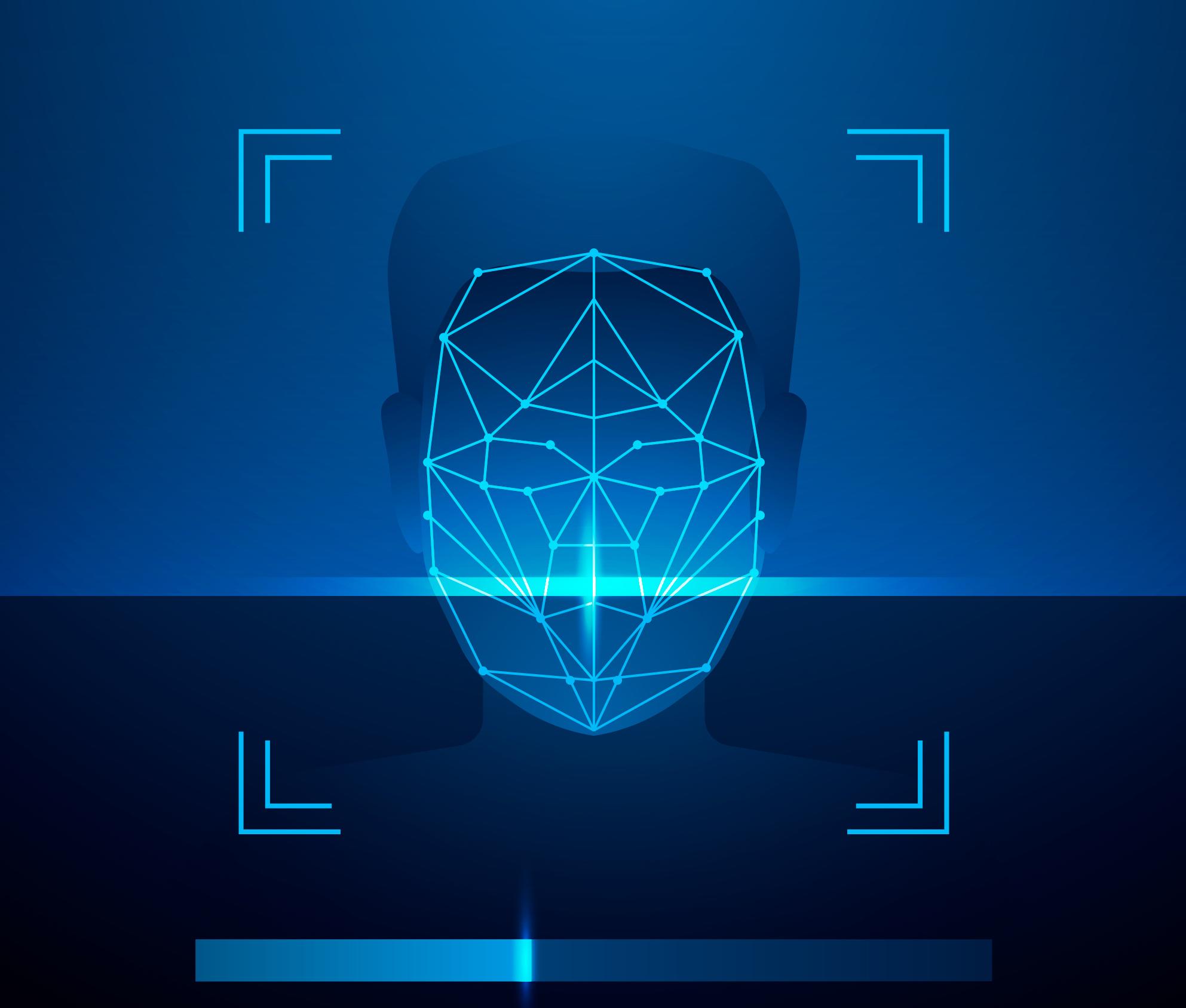 analisi linee viso per riconoscimento facciale