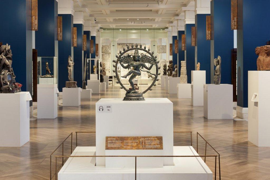 Visione della Galleria Sir Joseph Hotung del British Museum