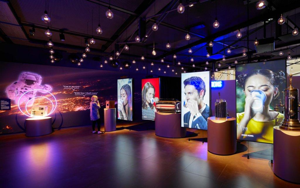 Il progetto di illuminazione del Museo Lavazza sala immersiva