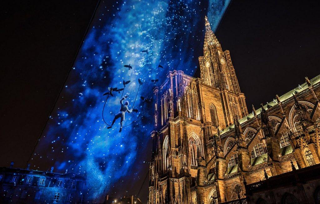 Esperienza immersiva tra le nuvole a Strasburgo