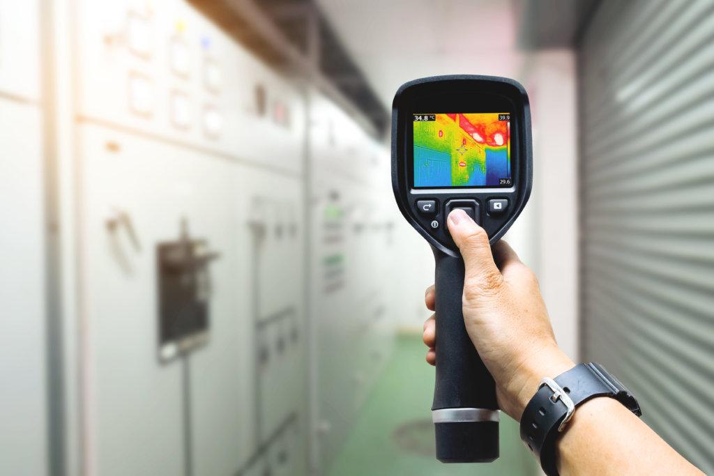 telecamera termica portatile