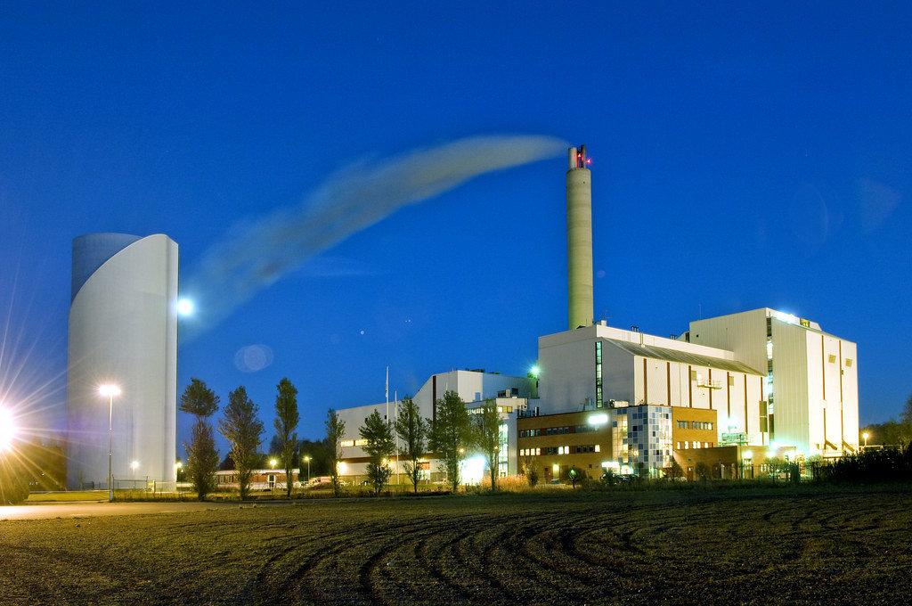 Impianto di cogenerazione a biomasse
