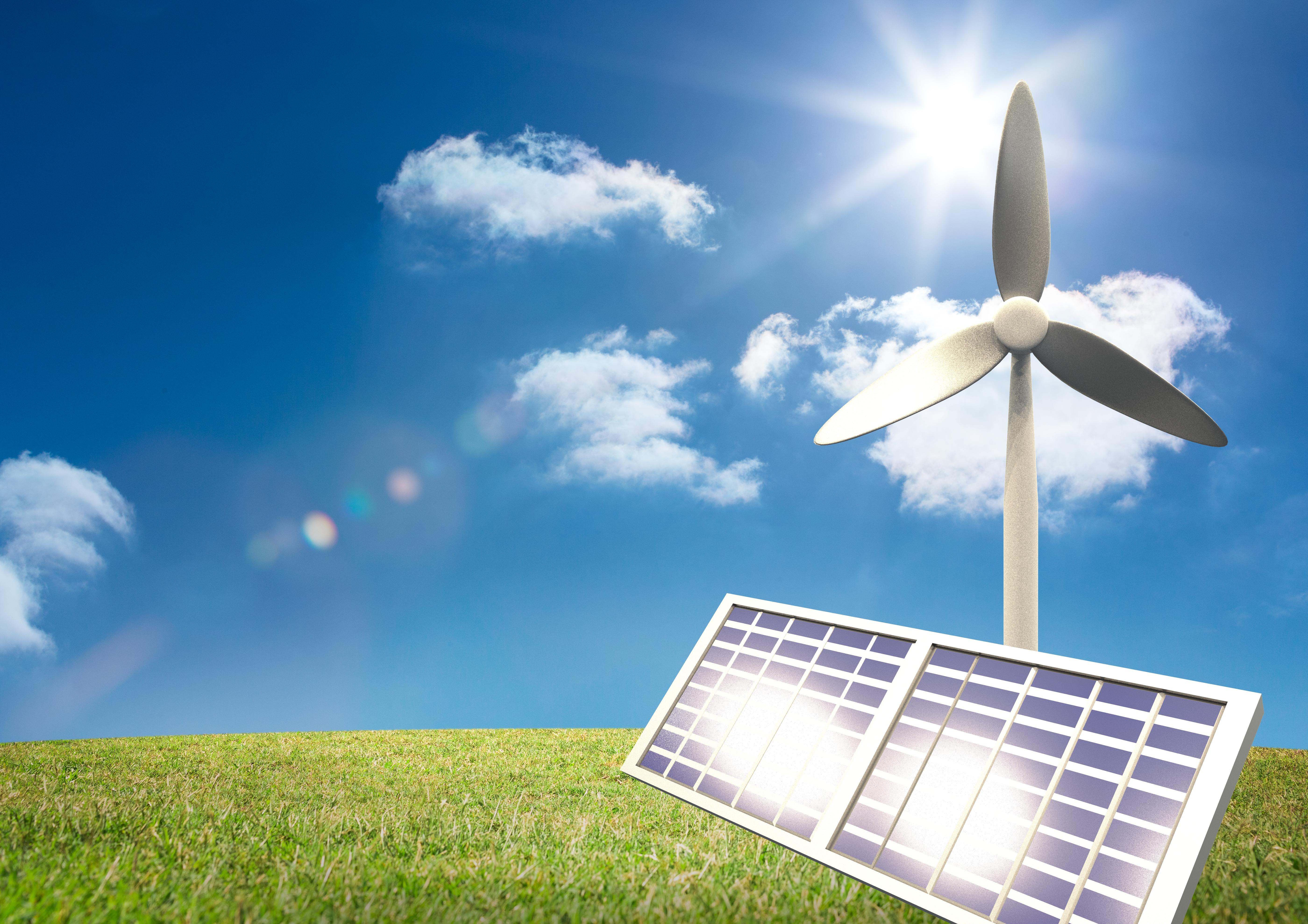 energia eolica e fotovoltaica tra le fonti di energia rinnovabile più diffuse