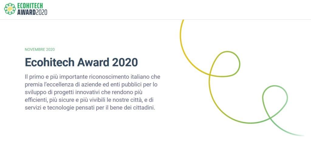 immagine Award Ecohitech