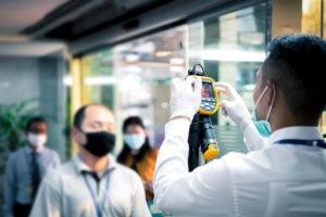 Controllo accessi con rilevazione temperatura: come velocizzare le procedure ed evitare assembramenti