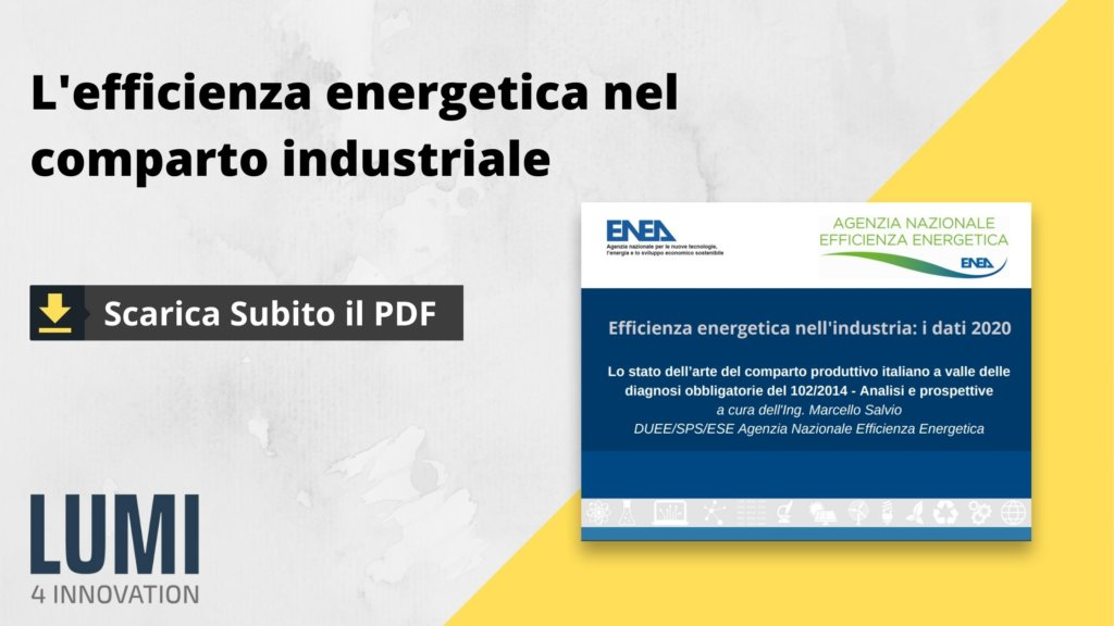 CTA efficienza energetica industria ENEA