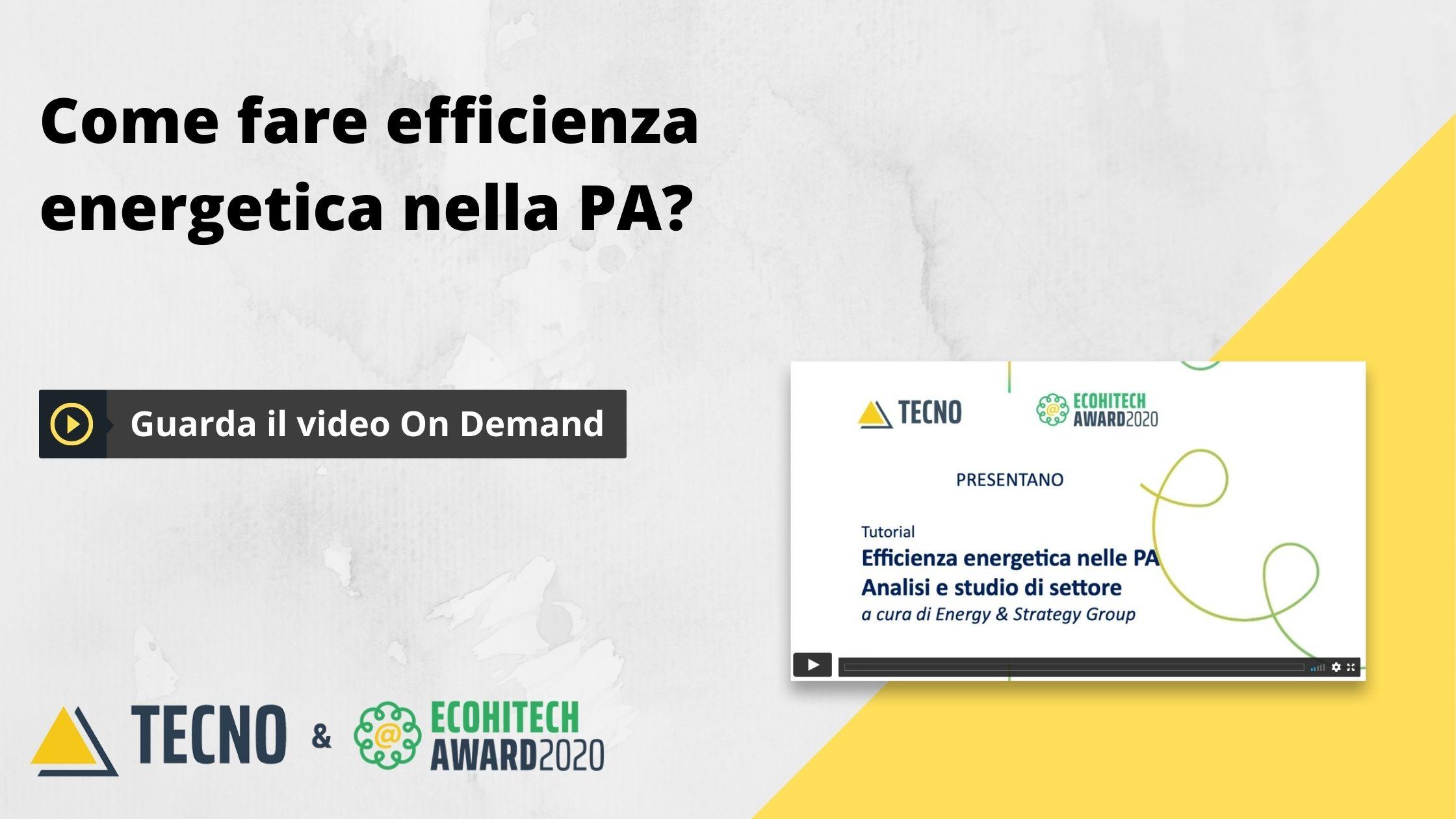 cta efficienza energetica PA