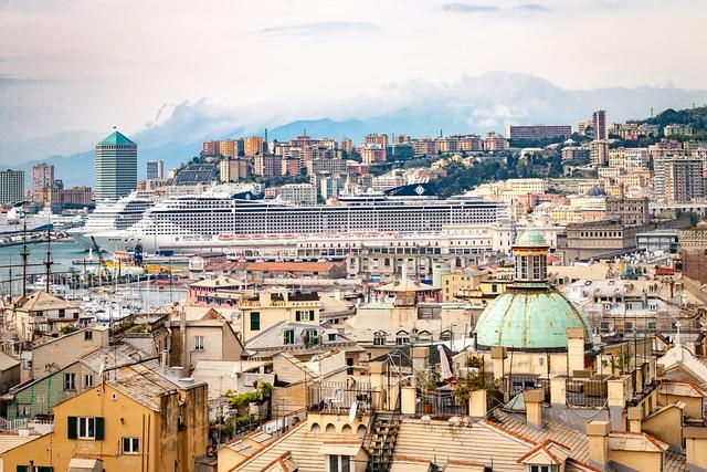 porto e città di Genova