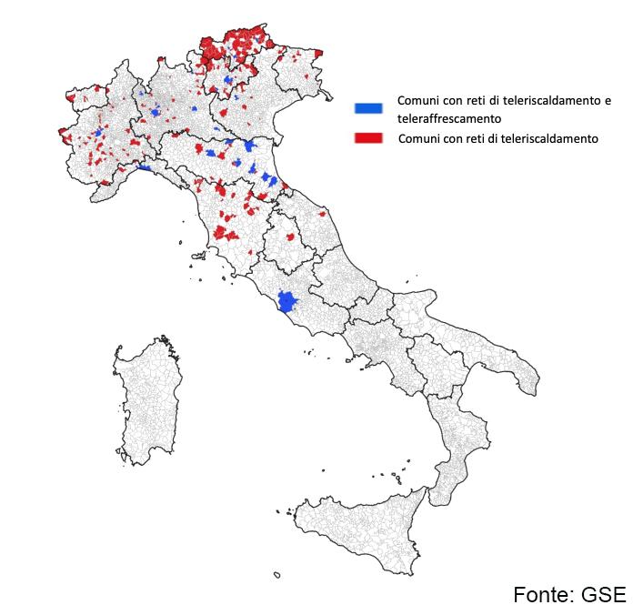 teleriscaldamento in Italia