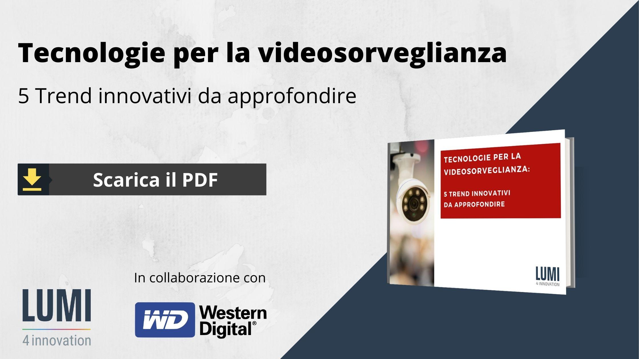 CTA videosorveglianza tecnologie WD