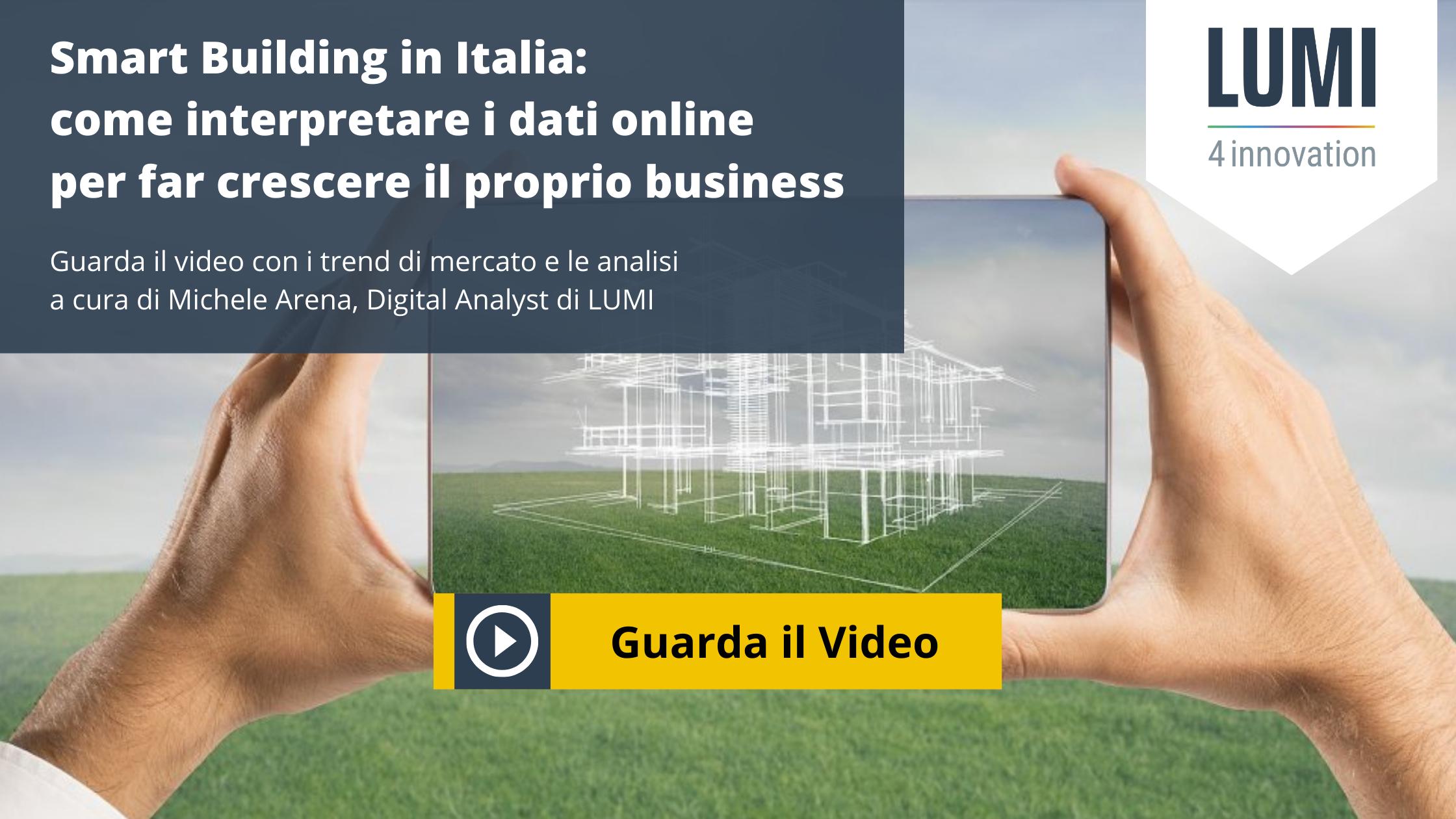 CTA smart building mercato online