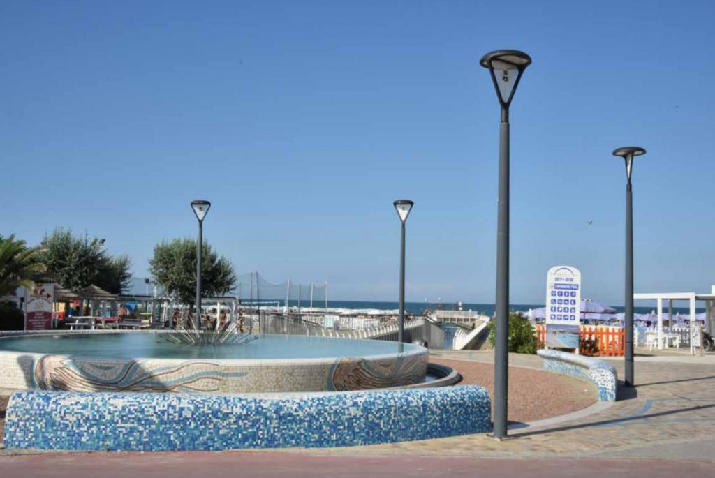 nuova illuminazione Misano Adriatico Hera Luce Neri 2